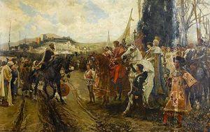 La rendición de Granada por Francisco Pradilla